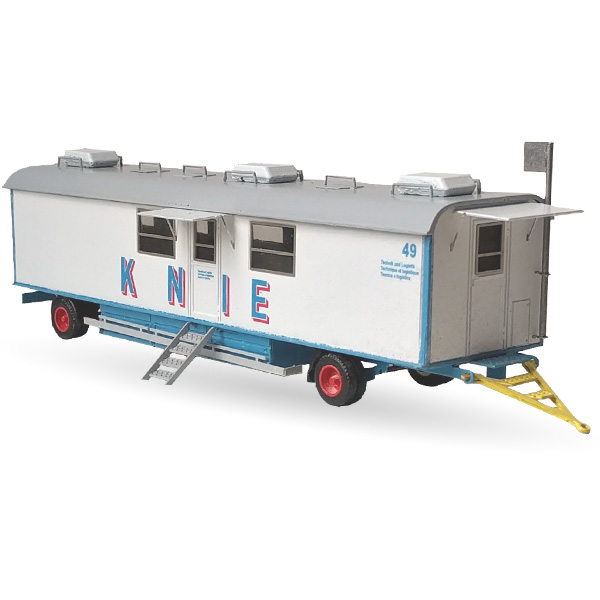 Circus Knie Bürowagen Nr. 49  - Bausatz 1:87