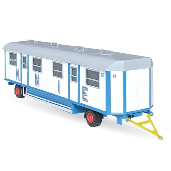 Circus Knie Mannschaftswagen Nr. 85/87 - Bausatz 1:87