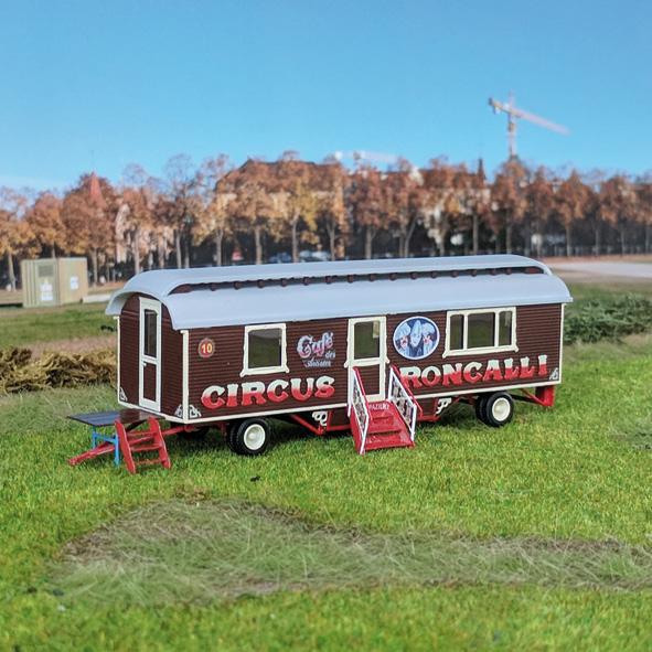 Circus Roncalli Caféwagen - Bausatz 1:87