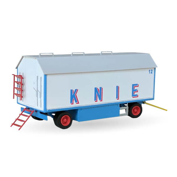 Circus Knie Packwagen Nr. 12/25 - Bausatz 1:87
