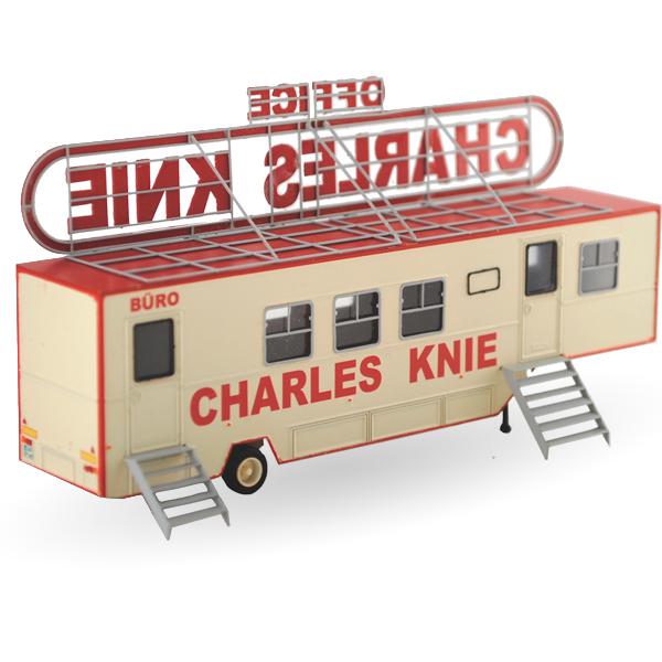 Zirkus Charles Knie Büroauflieger - Bausatz 1:87