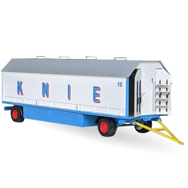 Circus Knie Packwagen Nr. 10/11 - Bausatz 1:87