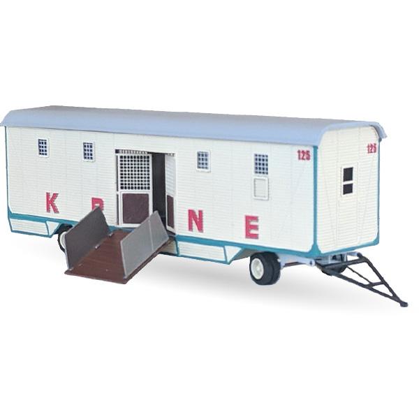 Circus Krone Exotenwagen Nr. 125 - Bausatz 1:87