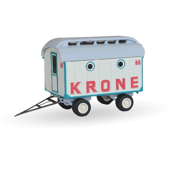 Circus Krone Garderobenwagen Nr. 66 - Bausatz 1:87