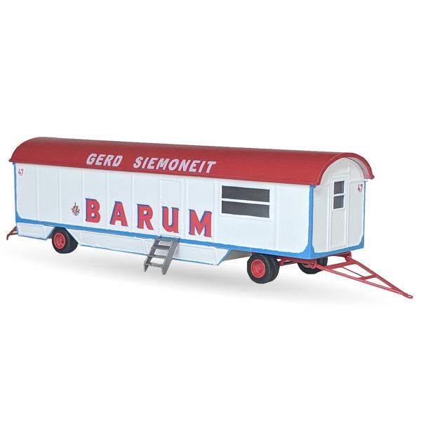 Circus Barum Packwagen Nr. 47 - Bausatz 1:87