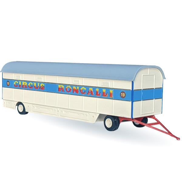 Circus Roncalli Packwagen Nr. 14-19 - Bausatz 1:87