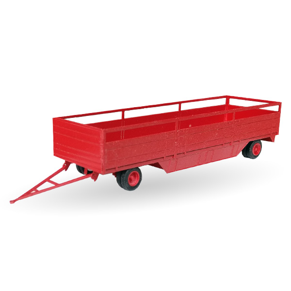 Circus Roncalli offener Packwagen - Bausatz 1:87