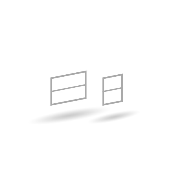 Fenster Mannschaftswagen - 21er Set - Unlackiert 1:87