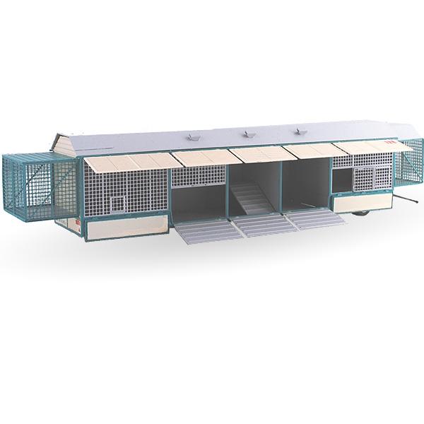 Circus Krone Kleintierwagen Nr. 120 - Bausatz 1:87