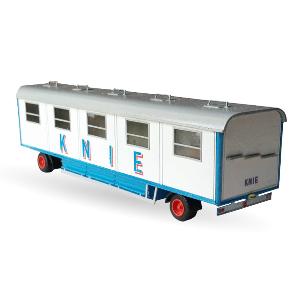 Circus Knie Mannschaftswagen Nr. 78  - Bausatz 1:87