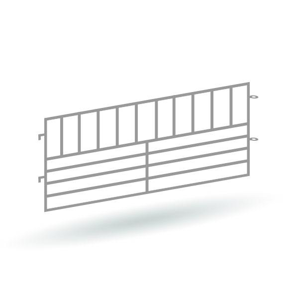 Moderne Tierzäune Version 1 - 14er Set - Bausatz 1:87