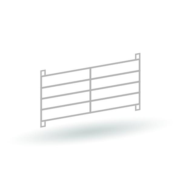 Moderne Tierzäune Version 2 - 16er Set - Bausatz 1:87