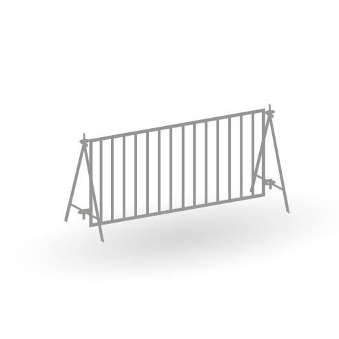 Tierschau Zäune - 21er Set - Bausatz 1:87