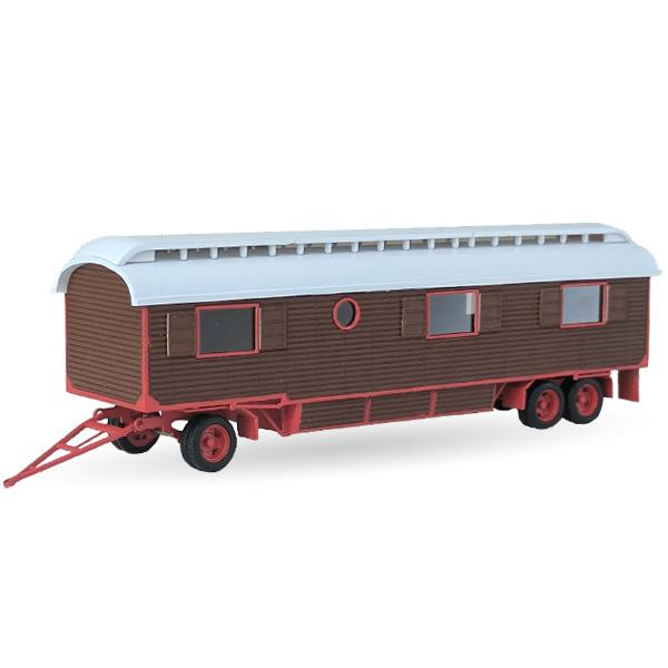 Wohnwagen mit Oberlicht (Pfaff) - Bausatz 1:87