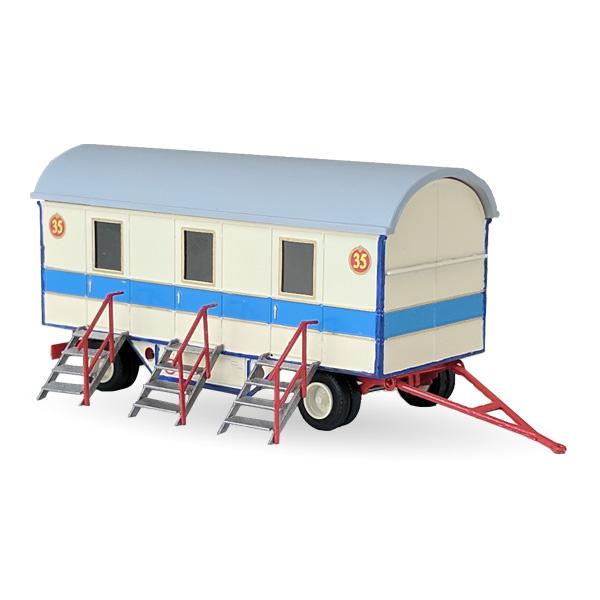 Circus Roncalli Mannschaftswagen Nr. 35 - Bausatz 1:87