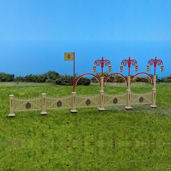 Circus Roncalli Front Zaun - Bausatz 1:87