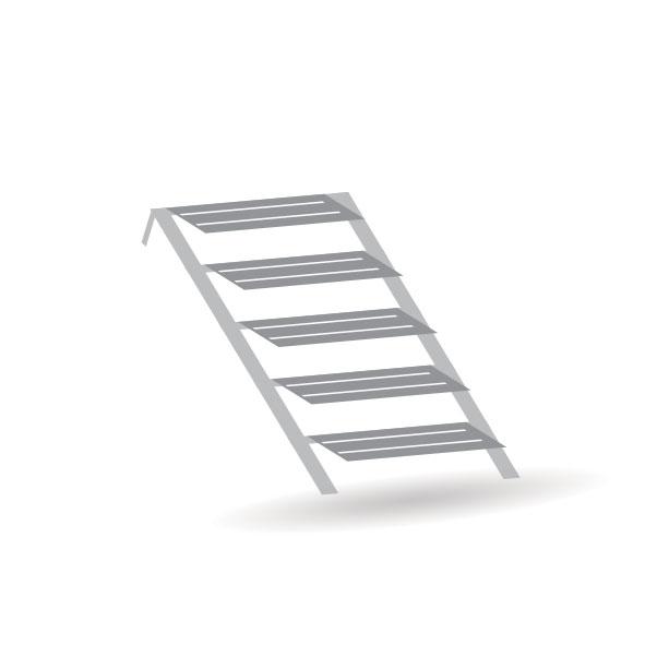 Treppen - 6er Set - Bausatz 1:87