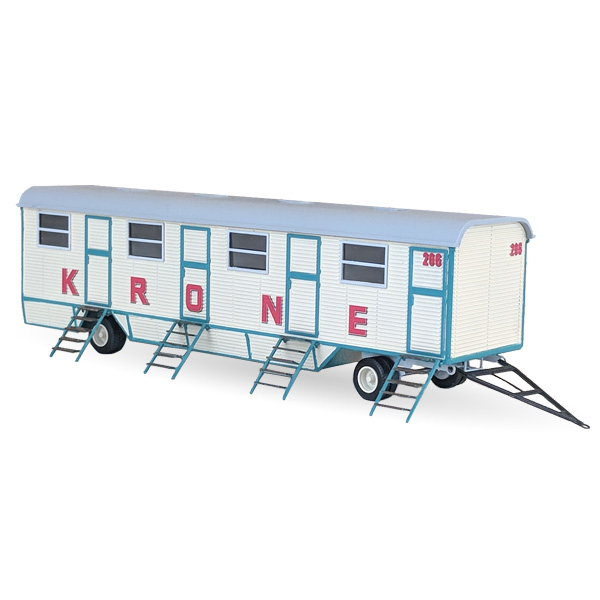 Circus Krone Mannschaftswagen Nr. 206 - Bausatz 1:87