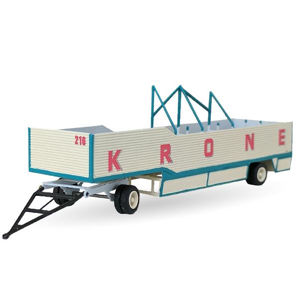Circus Krone offener Packwagen Nr. 216  - Bausatz 1:87