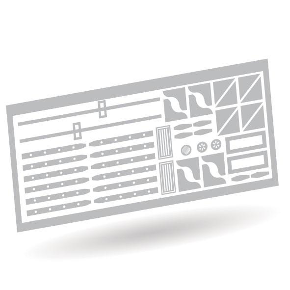 Packwagen Bauteile Set - Unlackiert 1:87