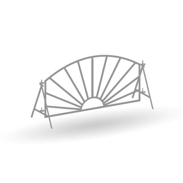 Zirkus Charles Knie Zäune - 17er Set - Bausatz 1:87